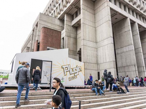 插件家登陆哈佛大学和波士顿市政厅