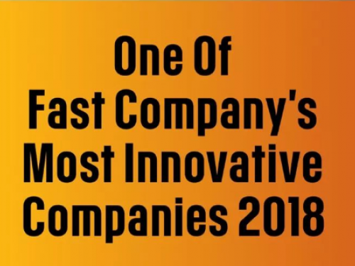PAO was Selected as One of Fast Company's Most Innovative Companies 2018